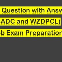 WZPDCL Job  Exam Question and Preparation