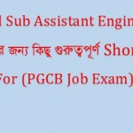 PGCB,DESCO,EGCB Mechanical Engineering Job Question with Answers