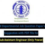 BPDB Job Question Old Question Papers