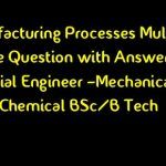 Manufacturing Management MCQ