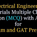 Electrical Engineering Materials Objective Questions Answer (PDF)