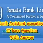 janata bank assistant executive officer it question
