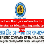 Power Grid Company of Bangladesh Exam -2004