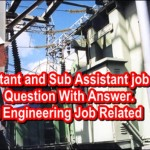 Assistant and Sub Assistant job Question with Answer