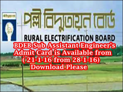 Bangladesh Rural Electrification Board Admit Card is Available Teletalk