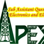 BAPEX Sub Assistant Job Questions(Departmental)