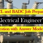 BADC,WZPDCL Electrical and Electronics (MCQ) Question with Answer