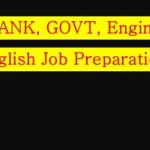 English Preparation for BCS,Bank,Engineering Job Exam