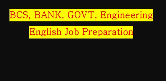 BCS English Preparation fill in the Appropriate Preposition(PDF)