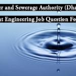 WASA Assistant Engineer's Civil Exam Question Pattern