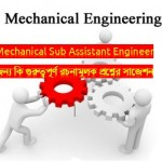 PGCB Job Exam Question for Mechanical Engineering