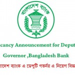 Deputy Governor Job Circular Bangladesh Bank