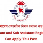 Civil Aviation Authority Bangladesh Job Circular 2016