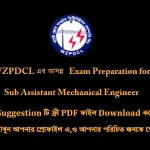 NWPGCL Job Exam Question with Answer(PDF) for Mechanical Engineers