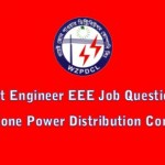 WZPDCL,WBPDCL Job Question for Assistant Engineer (EEE)