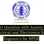 BPDB Recruitment Exam Question with Answer-EEE (PDF)