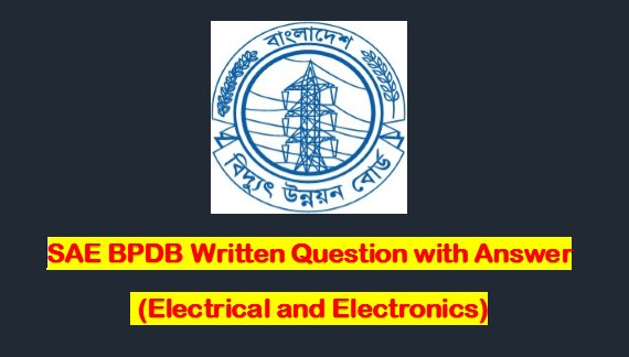 BPDB,PDB Job Question Pattern with Answers for -EEE