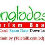Bangladesh Tourism Board (BTB) Admit Card-Teletalk 2017