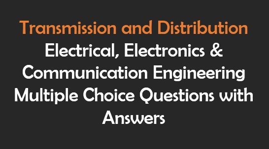 Control System Electrical Objective Questions and Answers(PDF)