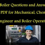 250 Steam Boiler and Engines Questions and Answer (MCQ) PDF